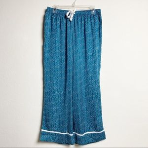 Soma Intimates & Sleepwear - Soma Teal and White pajama set